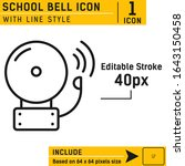 alarm bell vector icon design...