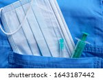 medical mask and other... | Shutterstock . vector #1643187442