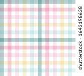 pink pastel  green  yellow... | Shutterstock .eps vector #1643198638