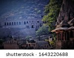 Panoramic View Of A Temple By...