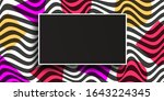 abstract lines design.geometric ... | Shutterstock .eps vector #1643224345