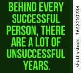 inspirational quote. behind... | Shutterstock . vector #1643250238
