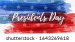 usa presidents day background.... | Shutterstock .eps vector #1643269618