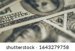 close up franklin's face on a... | Shutterstock . vector #1643279758