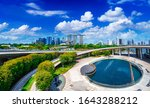 Cityscape View Of Singapore...