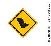 kunene region map in namibia...   Shutterstock .eps vector #1643348302