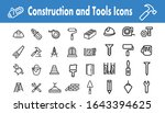 construction and tools icons... | Shutterstock .eps vector #1643394625