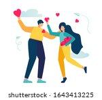 vector illustration  holiday... | Shutterstock .eps vector #1643413225