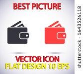 purse icon vector . lorem ipsum ...