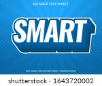 smart text effect template with ... | Shutterstock .eps vector #1643720002