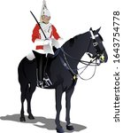 Colored  Image Of Beefeaters....