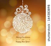 vector background with... | Shutterstock .eps vector #164383898