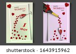 happy women's day  modern...   Shutterstock .eps vector #1643915962