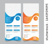 roll up banner design print...   Shutterstock .eps vector #1643939095