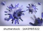 virus contagious epidemic viral ... | Shutterstock . vector #1643985322