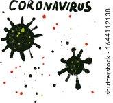 coronavirus from wuhan....   Shutterstock . vector #1644112138