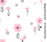 Spring Blooming Floral Field...