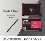 vector modern creative and...   Shutterstock .eps vector #1644172738