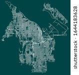 Road Map Of Tacoma  Washington  ...