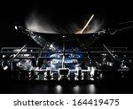 steam over cooking pot | Shutterstock . vector #164419475