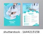 corporate healthcare cover ... | Shutterstock .eps vector #1644215158