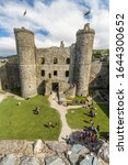 Harlech Wales   Interior Of...