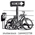 bike bicycle transpor...   Shutterstock .eps vector #1644422758