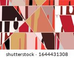 abstract collage asymmetric...   Shutterstock .eps vector #1644431308