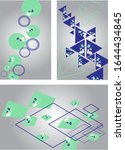 vector set. pattern with...   Shutterstock .eps vector #1644434845
