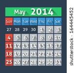 calendar for may 2014