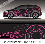 car wrap decal design vector ...   Shutterstock .eps vector #1644511108