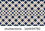 a vector simple grid bicolor... | Shutterstock .eps vector #164454782