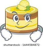 cool lemon cake mascot... | Shutterstock .eps vector #1644584872