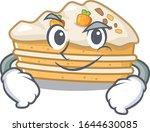 cool carrot cake mascot... | Shutterstock .eps vector #1644630085