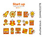 start up icon collection with...   Shutterstock .eps vector #1644631078