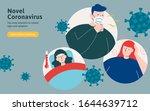covid 19 symptoms including... | Shutterstock .eps vector #1644639712