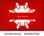 vector greeting card with... | Shutterstock .eps vector #164464766