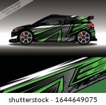 car wrap decal design vector ...   Shutterstock .eps vector #1644649075