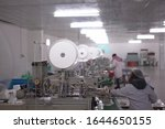 Mask Factory Works 24 Hours A...