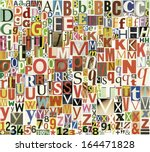 Colorful Vector Alphabet...