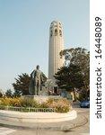 coit tower  san francisco ... | Shutterstock . vector #16448089