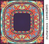 beautiful ornamental square... | Shutterstock .eps vector #164482895