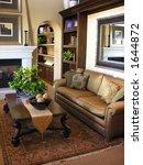 beautiful living room interior | Shutterstock . vector #1644872