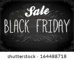 black friday calligraphic... | Shutterstock .eps vector #164488718
