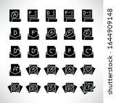grade result or exam result...   Shutterstock .eps vector #1644909148
