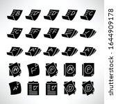 grade result or exam result...   Shutterstock .eps vector #1644909178