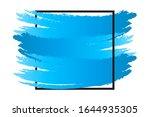 abstract paint brush texture... | Shutterstock .eps vector #1644935305