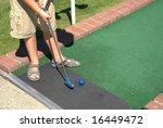 mini golf | Shutterstock . vector #16449472
