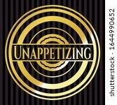 unappetizing golden badge.... | Shutterstock .eps vector #1644990652