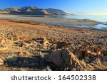 Antelope Island On The Great...